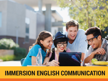 Immersion English communication