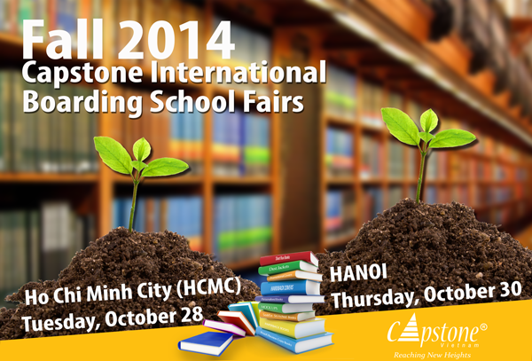 International Boarding School Fairs in Ho Chi Minh City & Hanoi – 30th October 2014