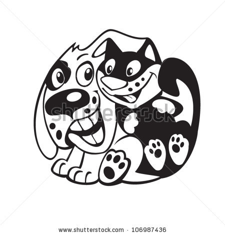 Truyện ngắn tiếng Anh: The cat and the dog